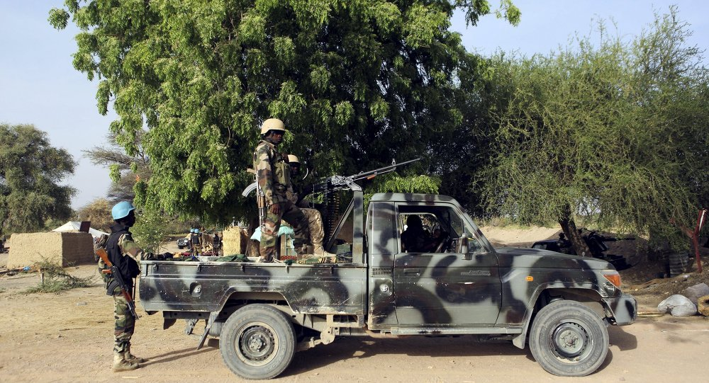Militares de Nigeria (archivo)