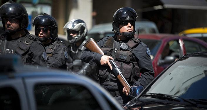 Policía argentina (imagen referencial)