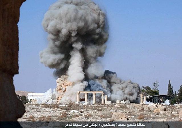 Explosión en Palmira