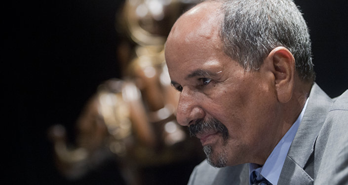 Mohamed Abdelaziz, el secretario general del Frente Polisario