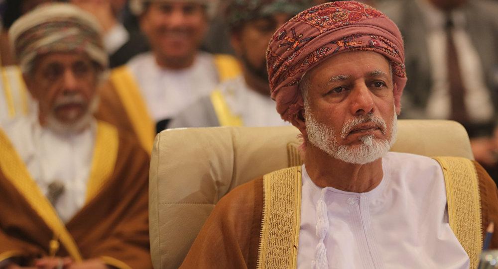 Yusuf bin Alawi, el ministro de Exteriores de Omán