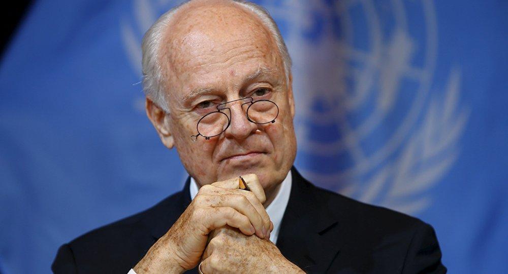 Staffan de Mistura, enviado especial de la ONU en el Siria (archivo)