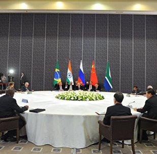 Líderes de BRICS en Antalya