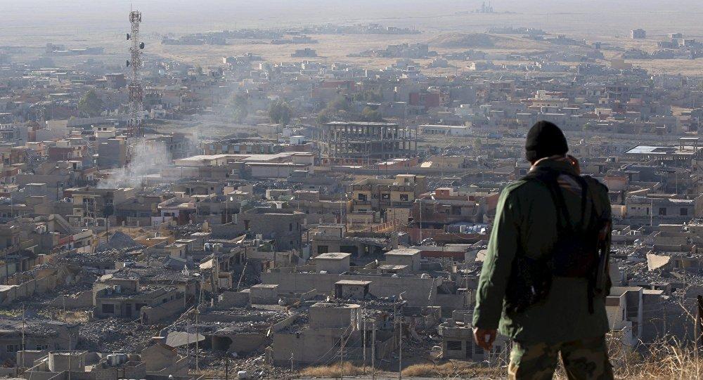 Situación en Sinjar, Irak (archivo)
