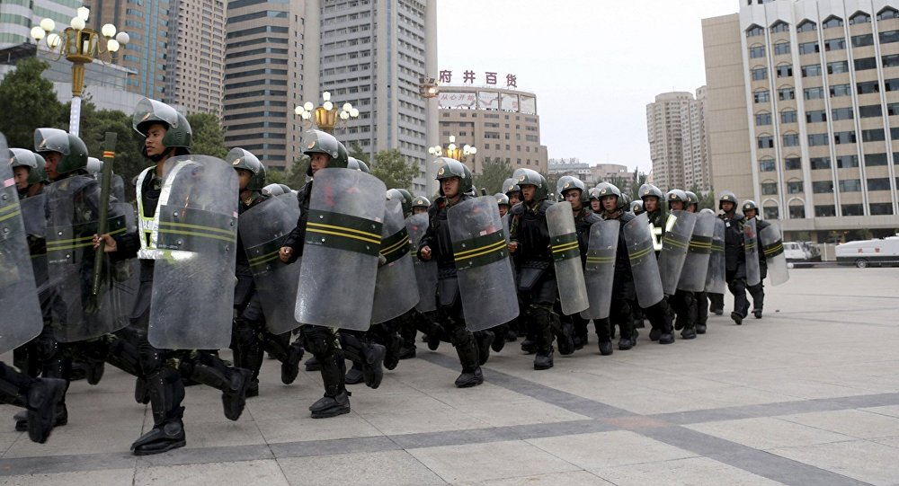 Policía china (imagen referencial)