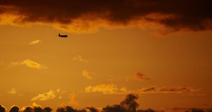 Avión en el aeropuerto de Sochi