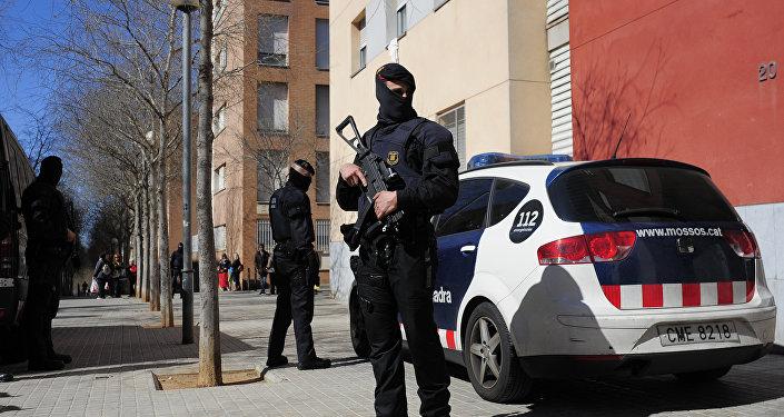 Los Mossos d'Esquadra, policía de Cataluña