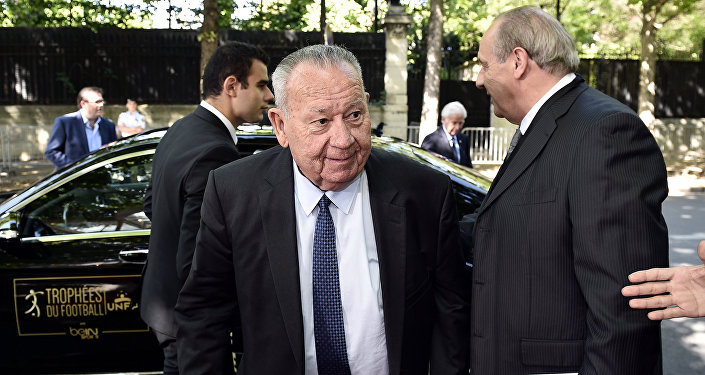 Just Fontaine, exfutbolista francés