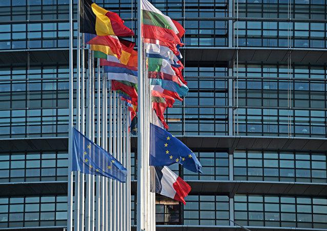 Banderas de los países de la Unión Europea