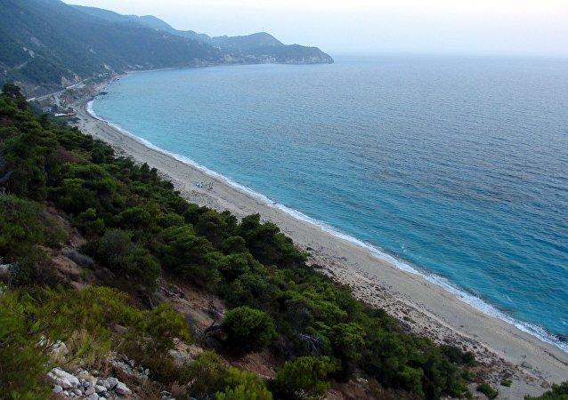 Isla Lefkada, Grecia