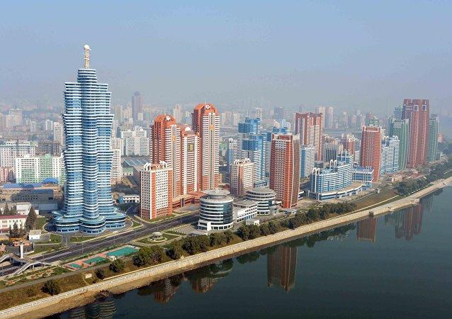 La avenida de Científicos Mirae, Pyongyang