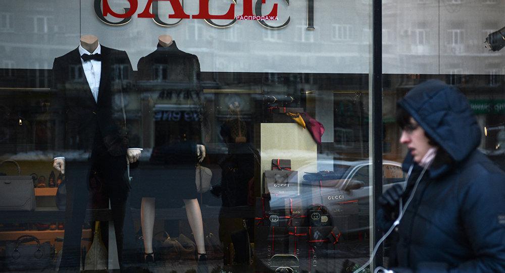 Una tienda de Gucci en Moscú
