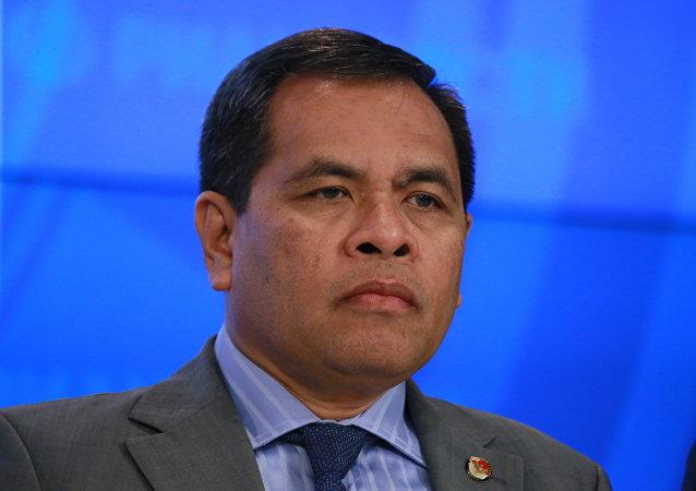 Jauhari Oratmangun, el embajador indonesio en Rusia