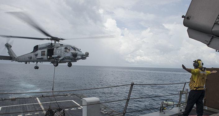 Fuerzas de EEUU en el Mar del Sur de China