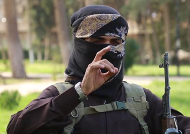 Militante del grupo terrorista Estado Islámico