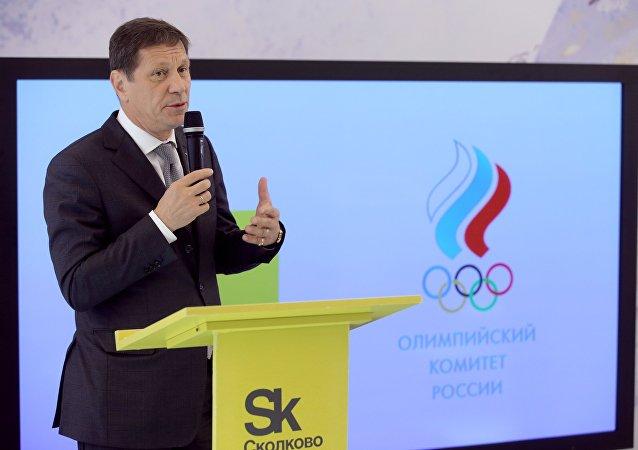 Alexandr Zhúkov, presidente del Comité Olímpico de Rusia
