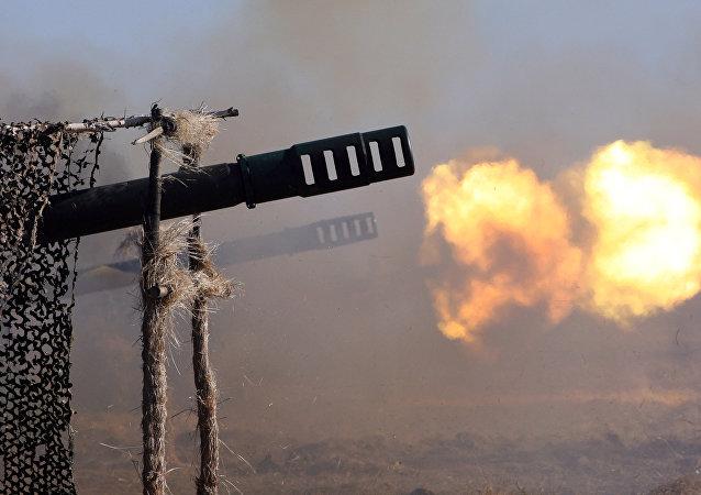 Artillería rusa