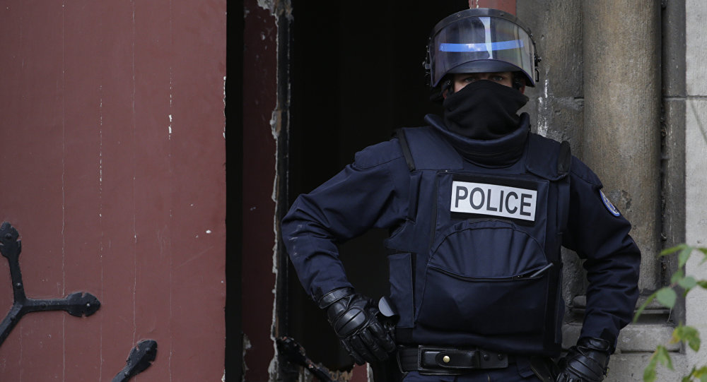 Policia francés (imagen referencial)