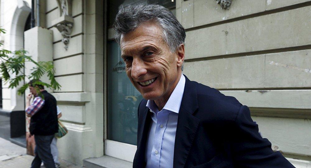 Mauricio Macri, candidato presidencial