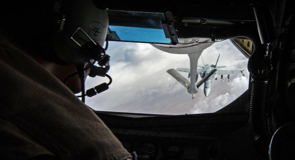 Fuerzas estadounidenses y canadienses en la operación contra el EI