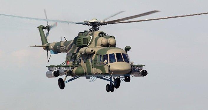 Helicóptero Mi-8AMTSh-V (archivo)