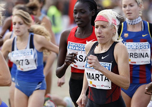 Marta Domínguez, atleta española