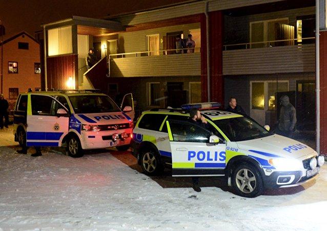 Policía sueca detiene a sospechoso de organizar atentado terrorista en Boliden, Suecia