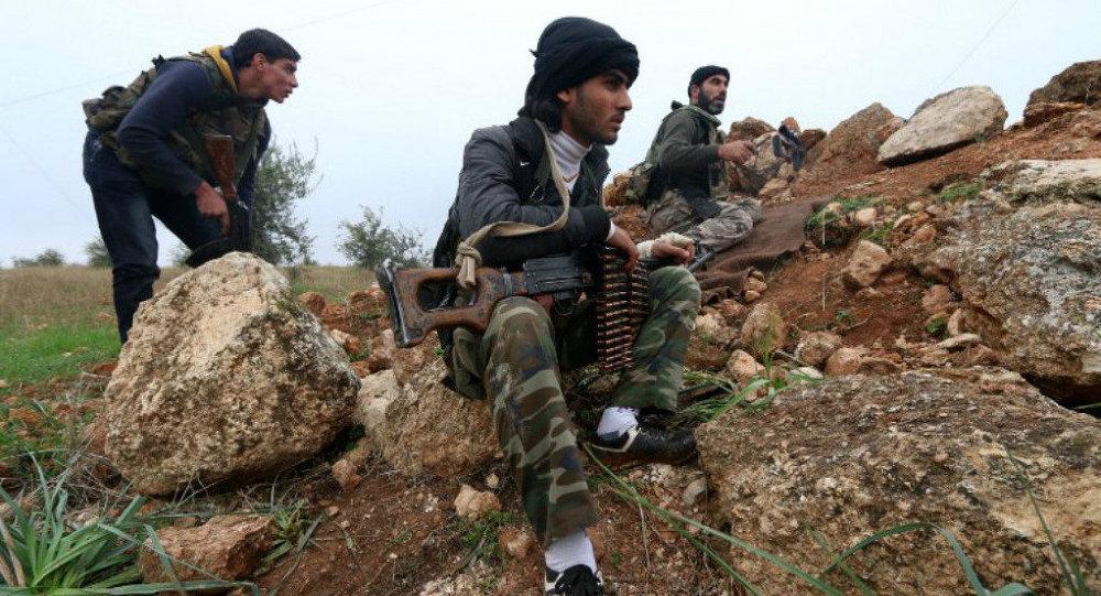 Militantes del Frente Al Nusra (archivo)