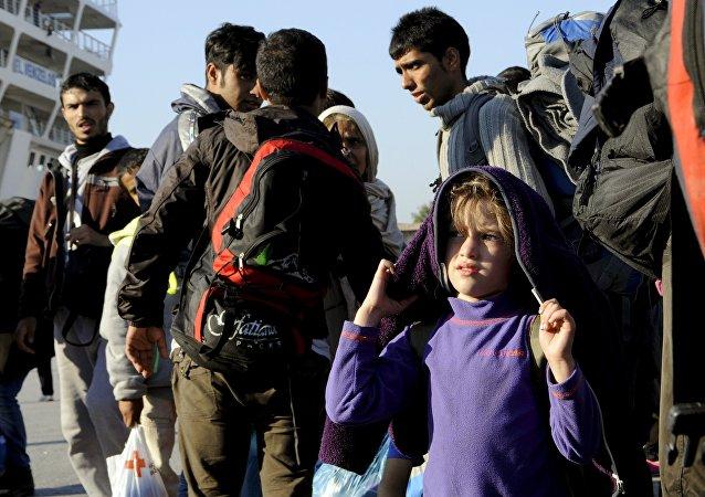 Refugiados sirios
