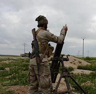 Un militante del grupo yihadista Daesh (archivo)