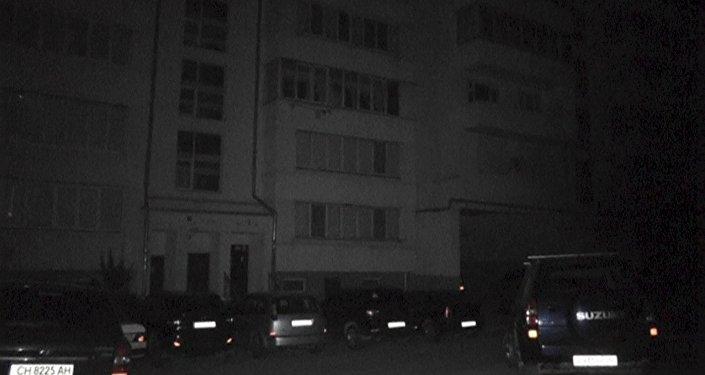 Apagón total en Sebastopol, Crimea