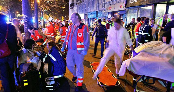 El lugar de uno de los atentados en París (archivo)