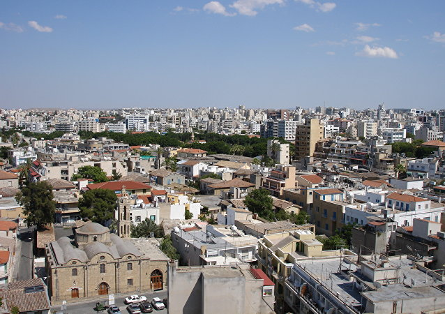 Nicosia, la capital de Chipre