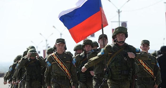 Los soldados rusos