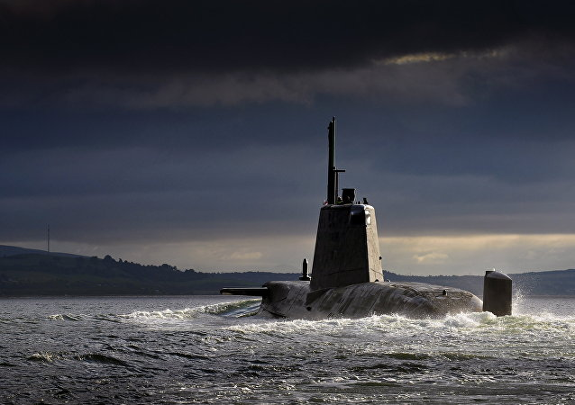 Submarino nuclear (imagen referencial)
