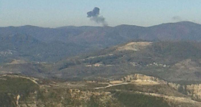 Turquía derriba un Su-24 ruso sobre territorio sirio (archivo)