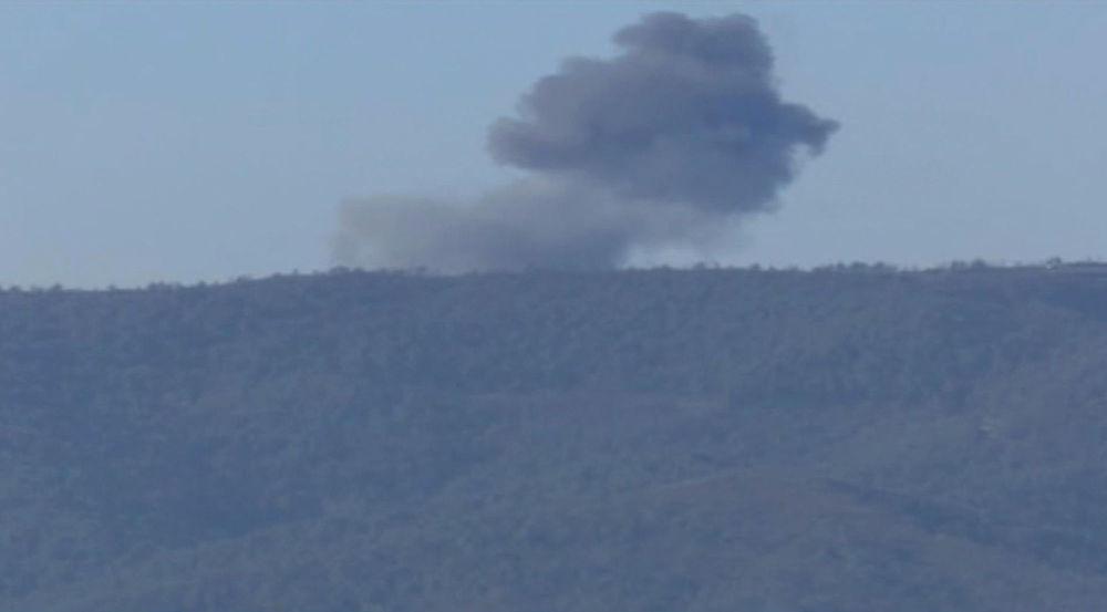 Zona cero del Su-24 ruso derribado por Turquía