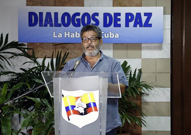 """""""Marcos Calarcá"""", guerrillero de las FARC"""