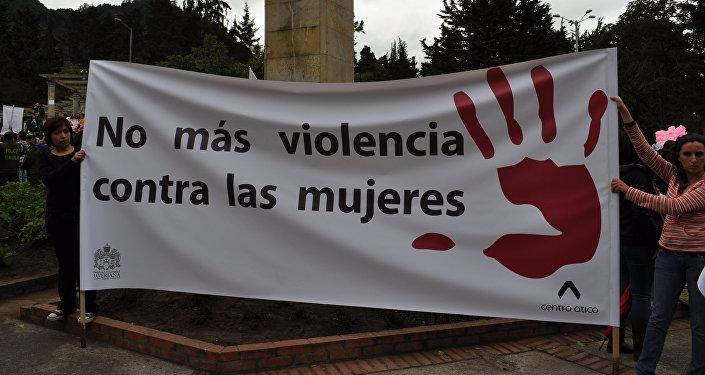 Protesta contra la violencia de género (archivo)