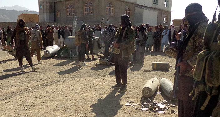 Militantes de Talibán (archivo)