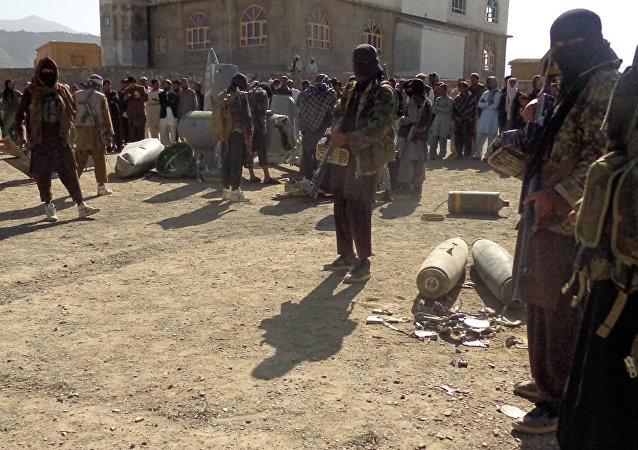 Militantes de Talibán en Afganistán (archivo)