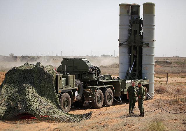 Lanzadera del sistema S-400