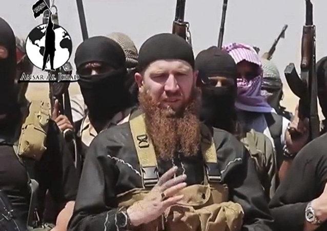 Abu Omar al-Shishani, señor de la guerra de EI