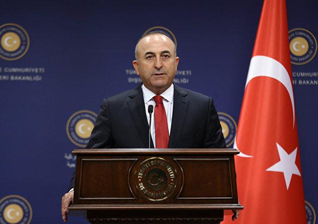 Mevlut Cavusoglu, ministro turco de Exteriores