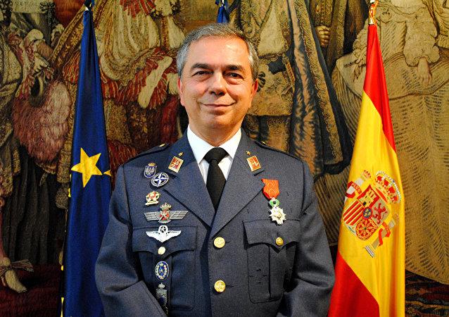 Rubén García Servert, general de división del Ejército del Aire de España