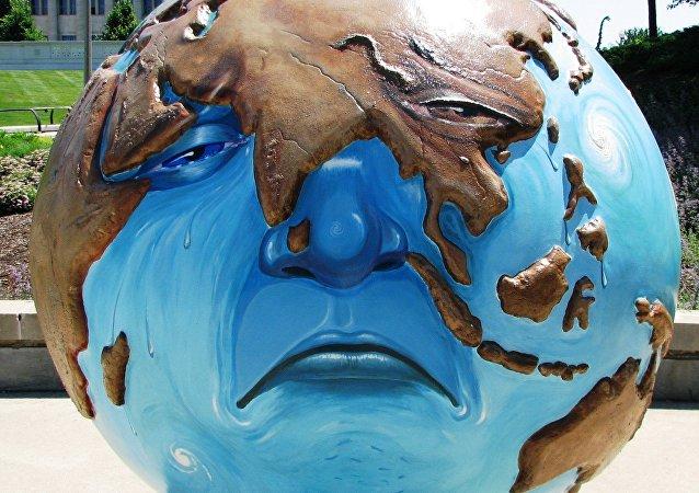 Exposición de arte sobre el cambio climático en Chicago, EEUU