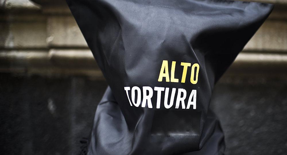 Protesta contra la tortura en México