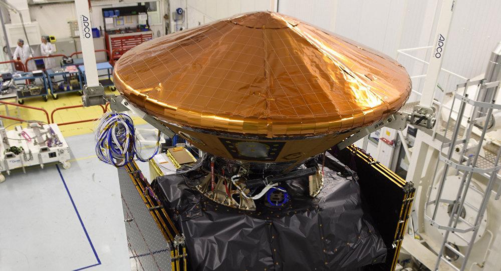 Módulo del aterrizaje Schiaparelli, también conocido como ExoMars Entry