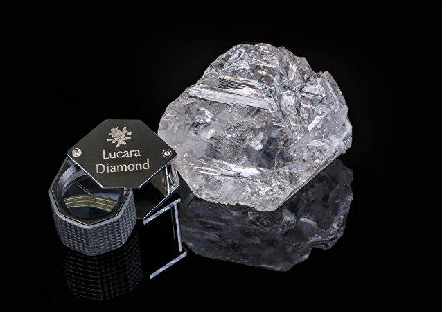 Diamante descubierto en Botsuana