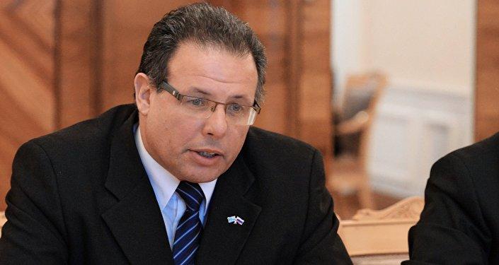 Aníbal Pereyra, presidente de la Cámara de Representantes de la Asamblea General de la República Oriental del Uruguay